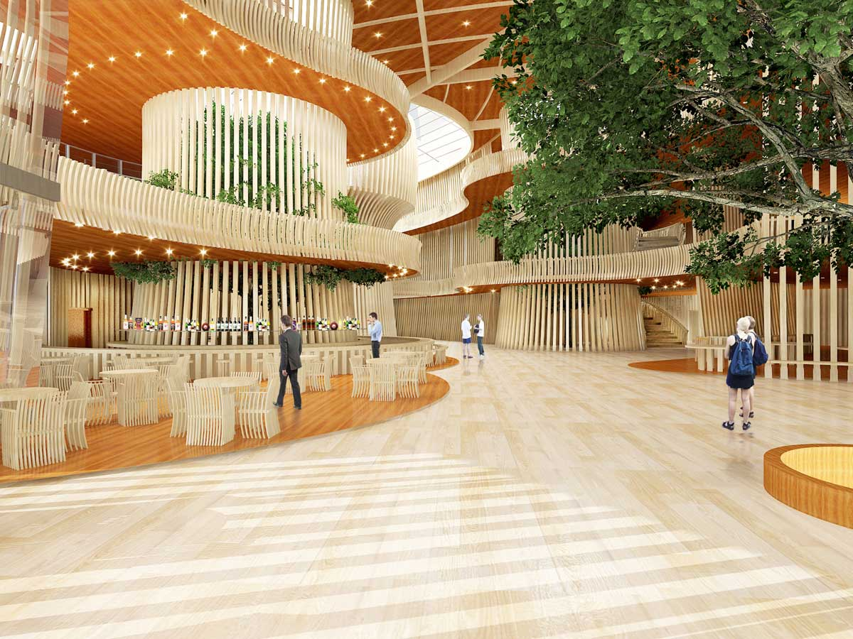 Helsinki, Finland Guggenheim art museum concept | Trevor Pan Architects